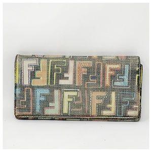 Authentic Fendi Long Wallet